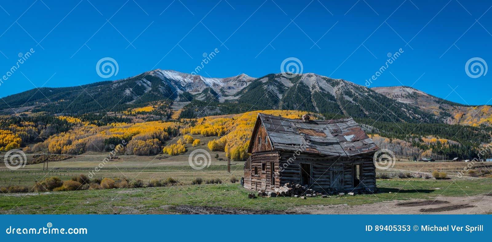 Cabine abandonada em Gunnison County Colorado