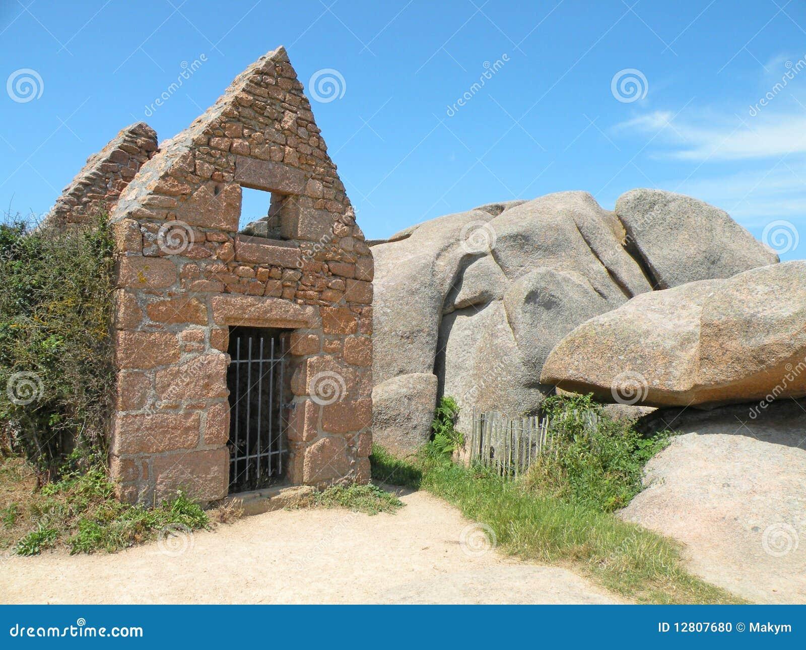 Cabine de pedra