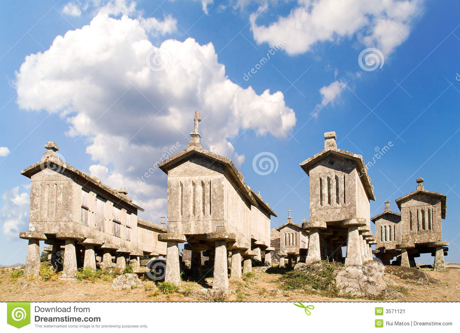 Cabine delle castelle del cereale, Portogallo