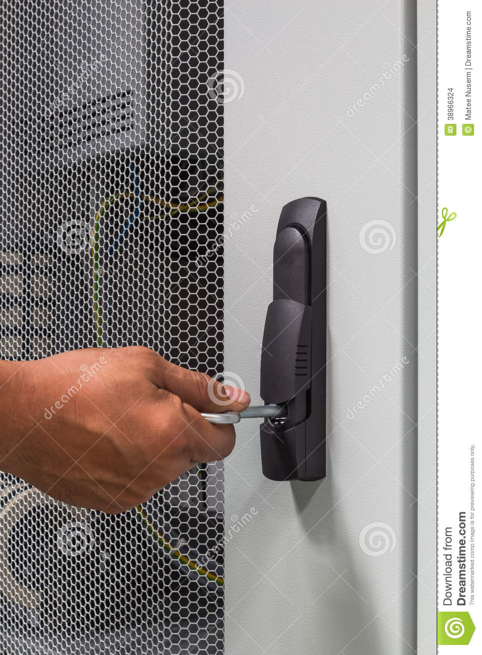 Cabinet Latch Stock Photo Image 38966324