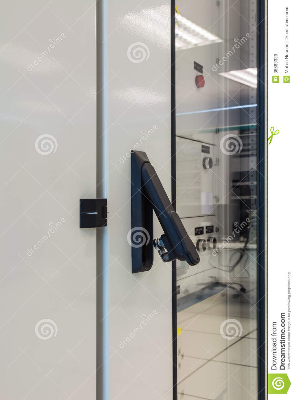 Cabinet latch stock image  Image of latch, industry, safety