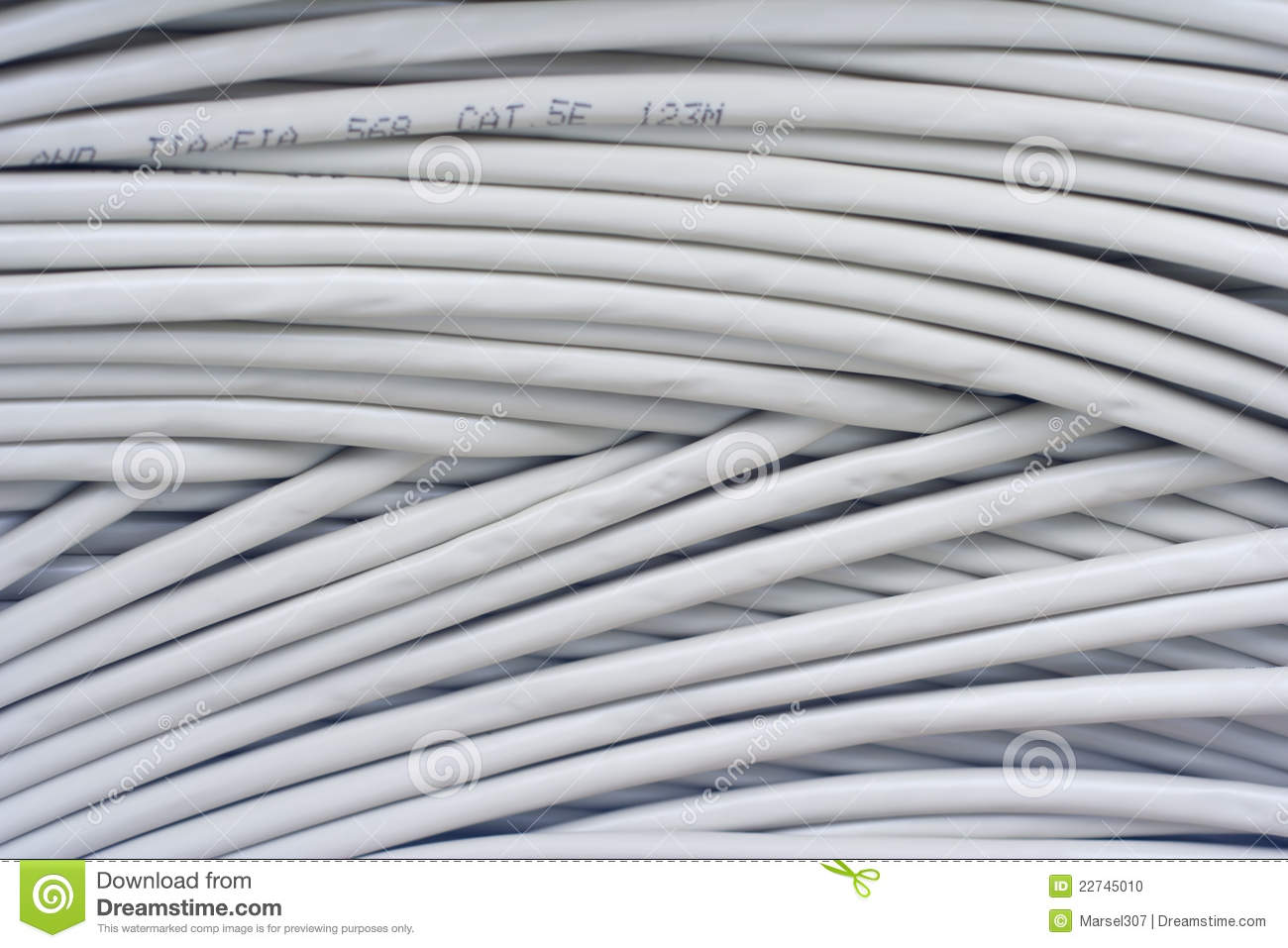 Cable stock photo. Image of hank, wiring, network, wires - 22745010