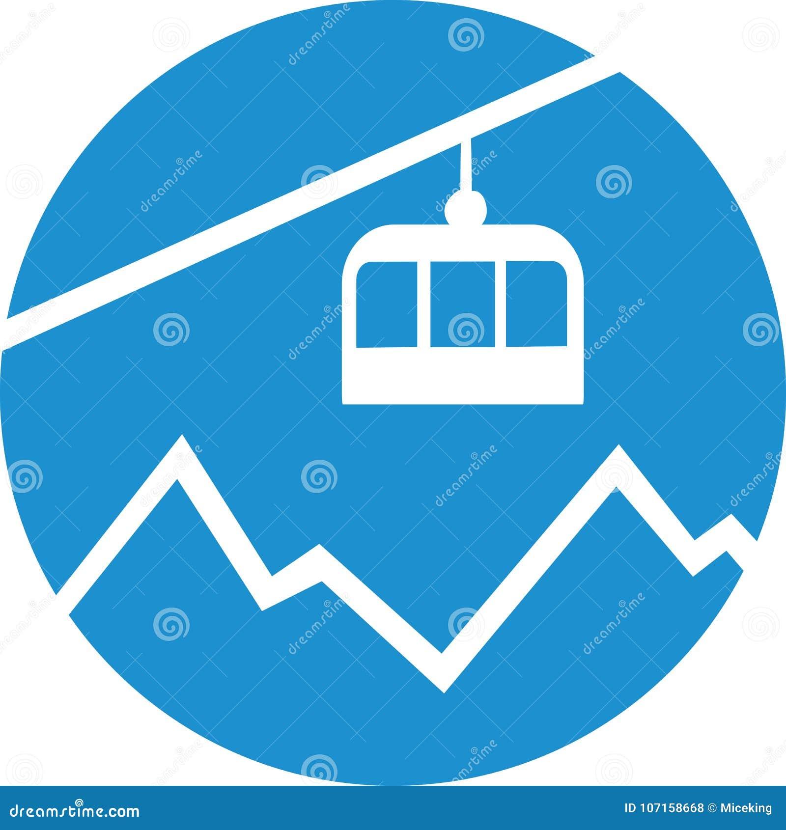 cable car gondola over the mountain