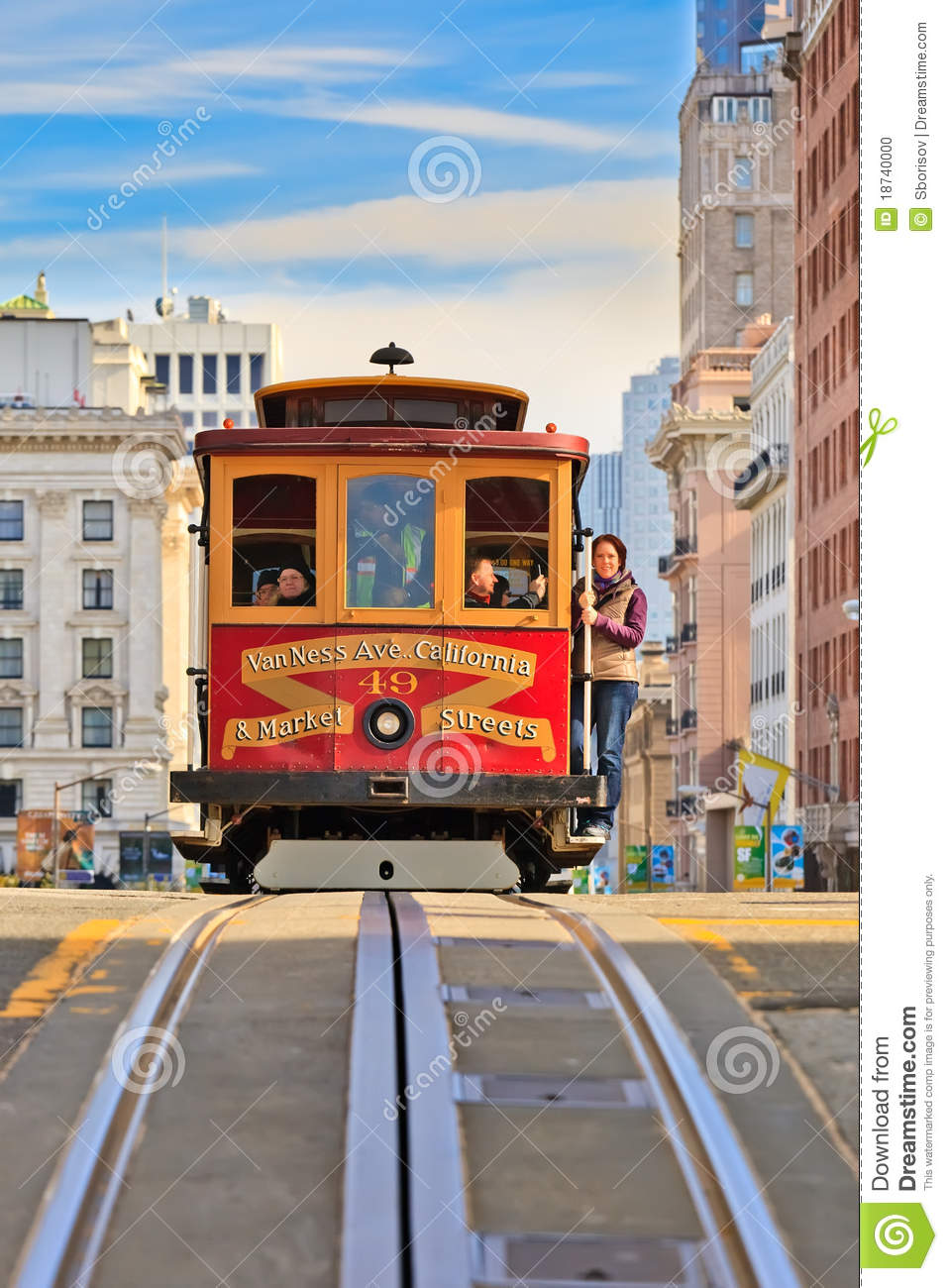 Old Fashioned Trolley Clipart