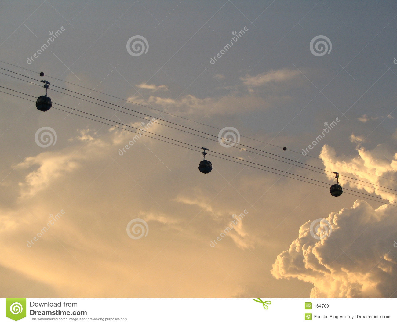Cable Cars (Sunset)