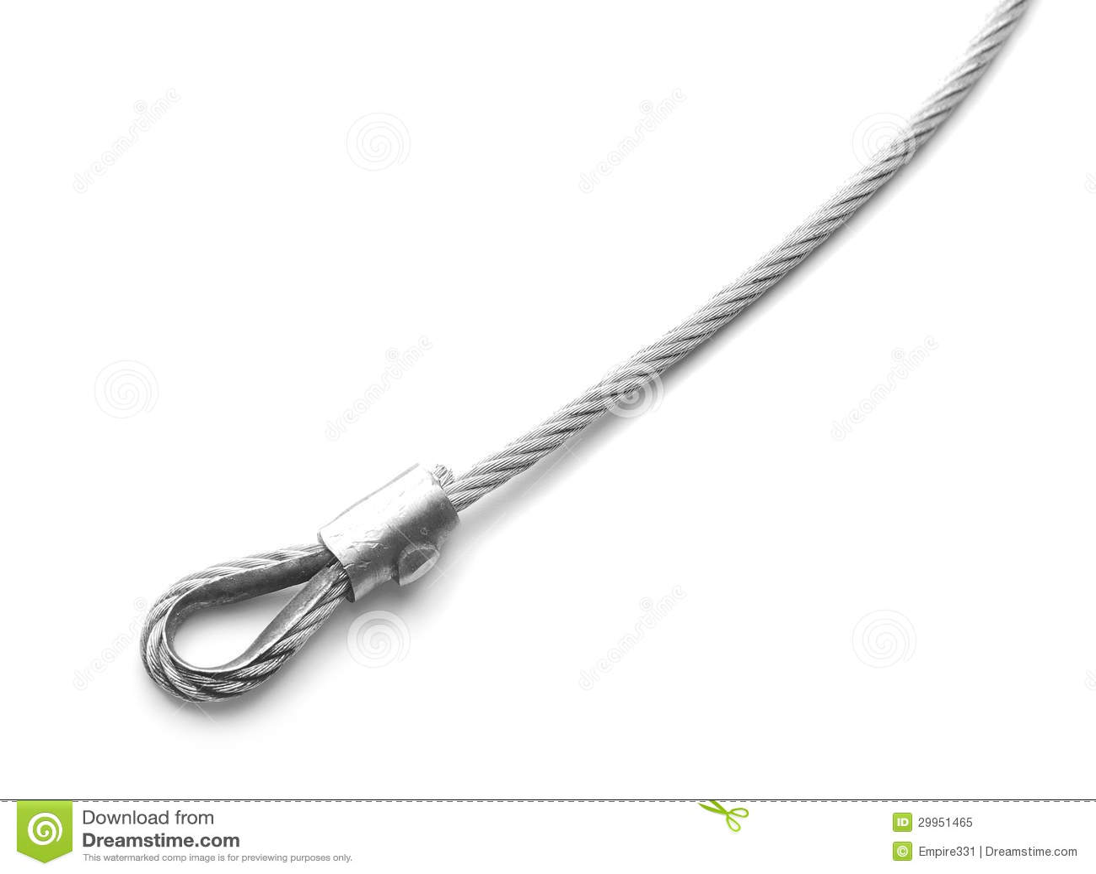 Cable de acero foto de archivo libre de regal as imagen - Cable acero trenzado ...