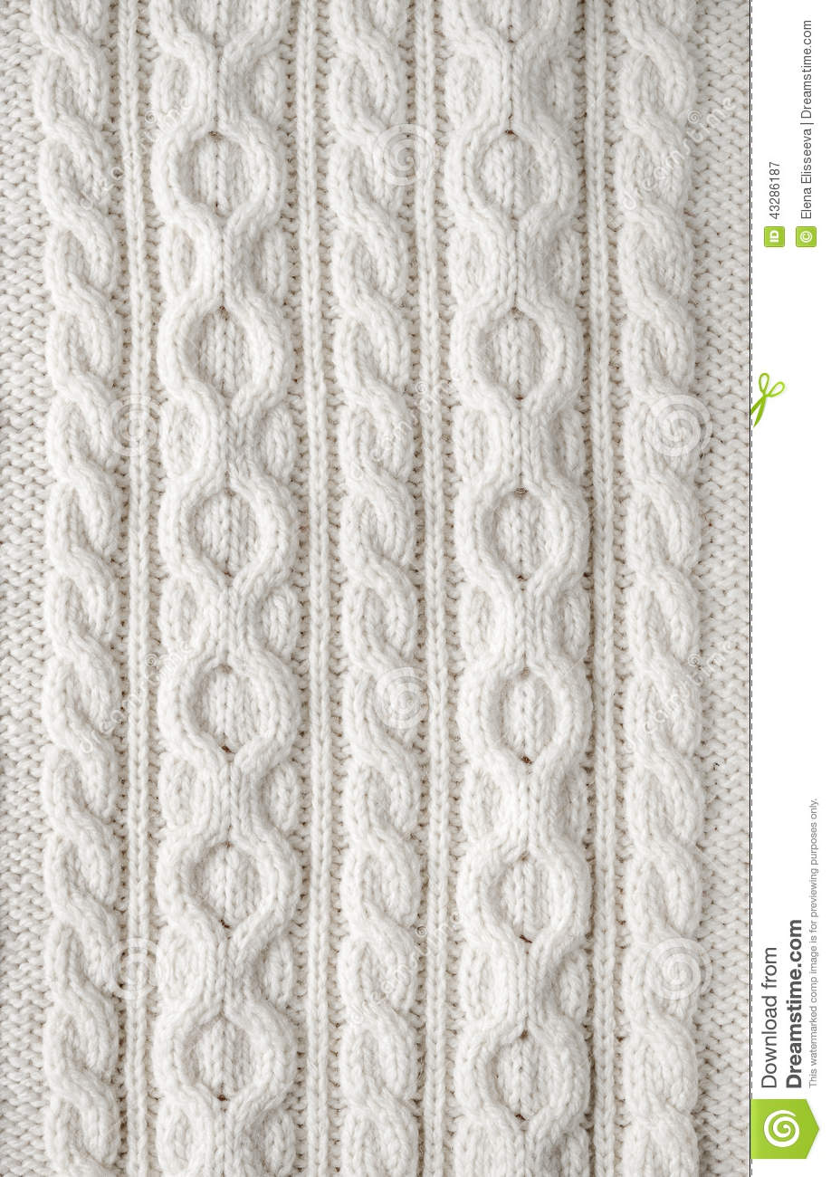 Knitting Pattern Wallpaper : Cable knit fabric background stock image of cozy