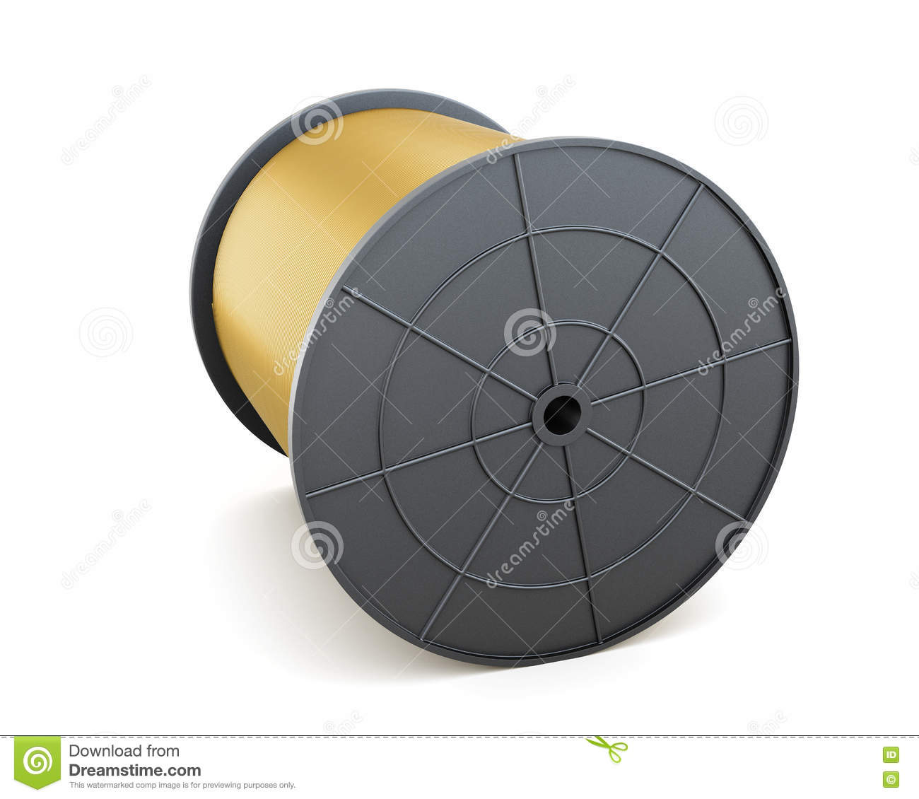 Cable Spool Stock Illustrations – 224 Cable Spool Stock ...