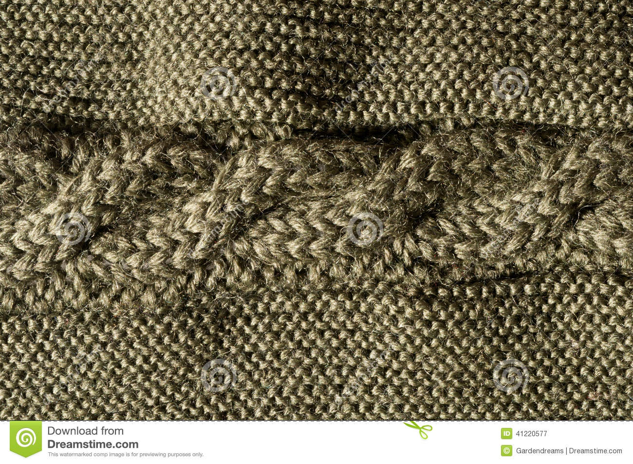 Cable stitch forest green stock image. Image of bavarian - 41220577