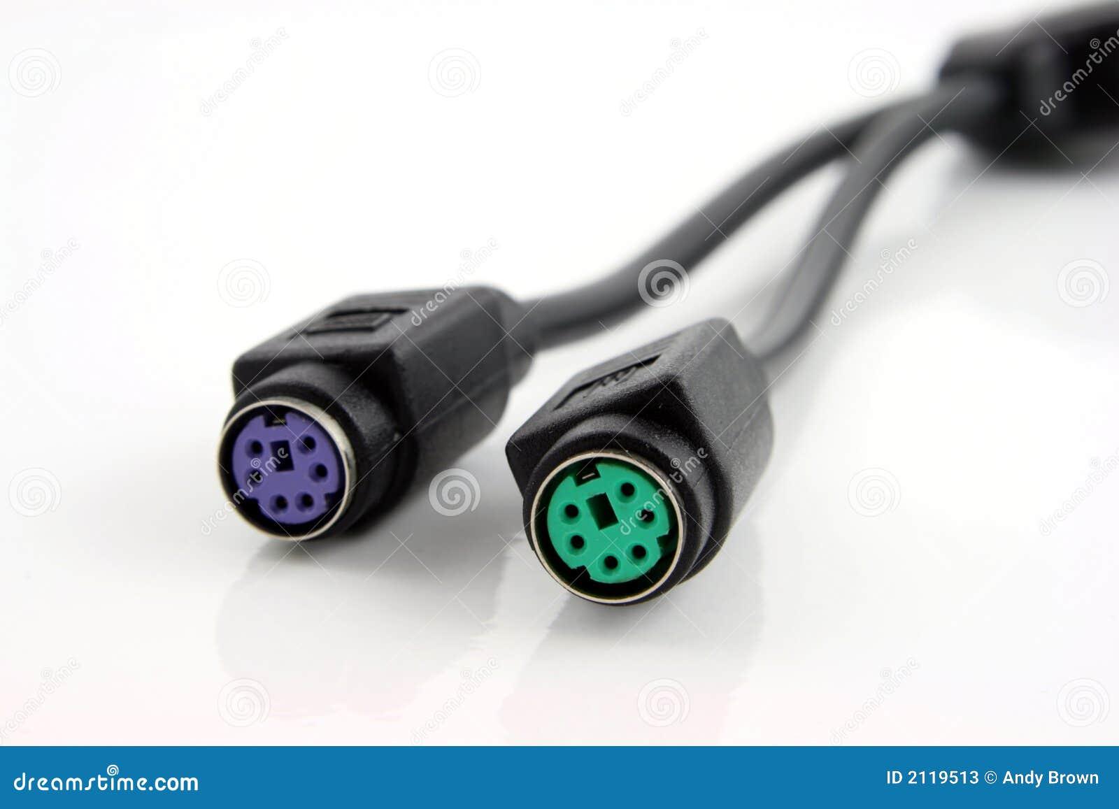 Cables de la conexión del ordenador