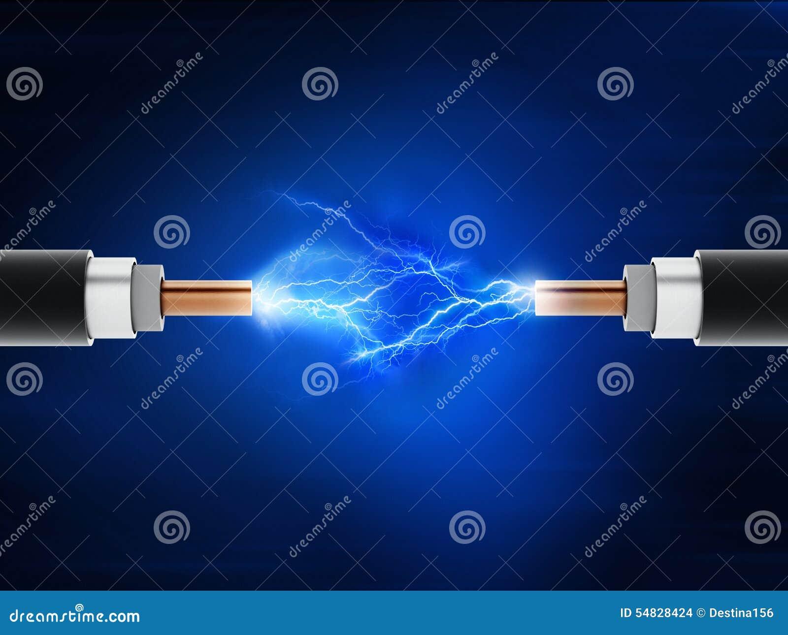 Cables de la electricidad stock de ilustraci n imagen - Cables de electricidad ...