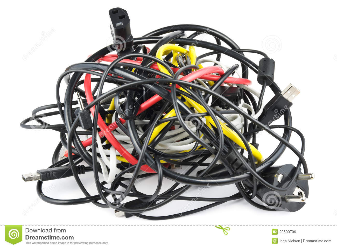 Cables Knot Royalty Free Stock Image Image 23600706