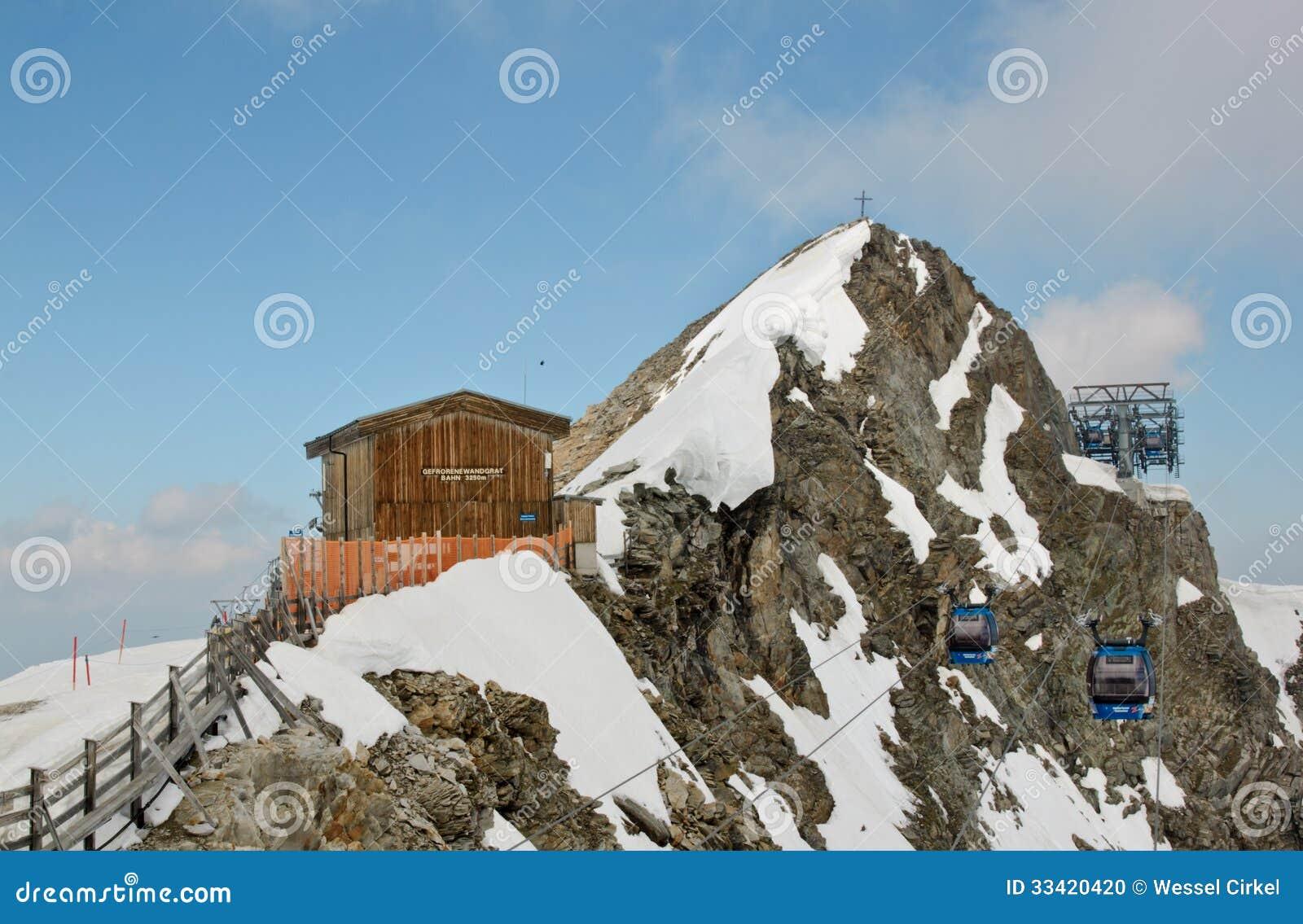 Hintertux Glacier Austria  city photos gallery : cableway lift to hintertux glacier austria gletscherbus which surely ...