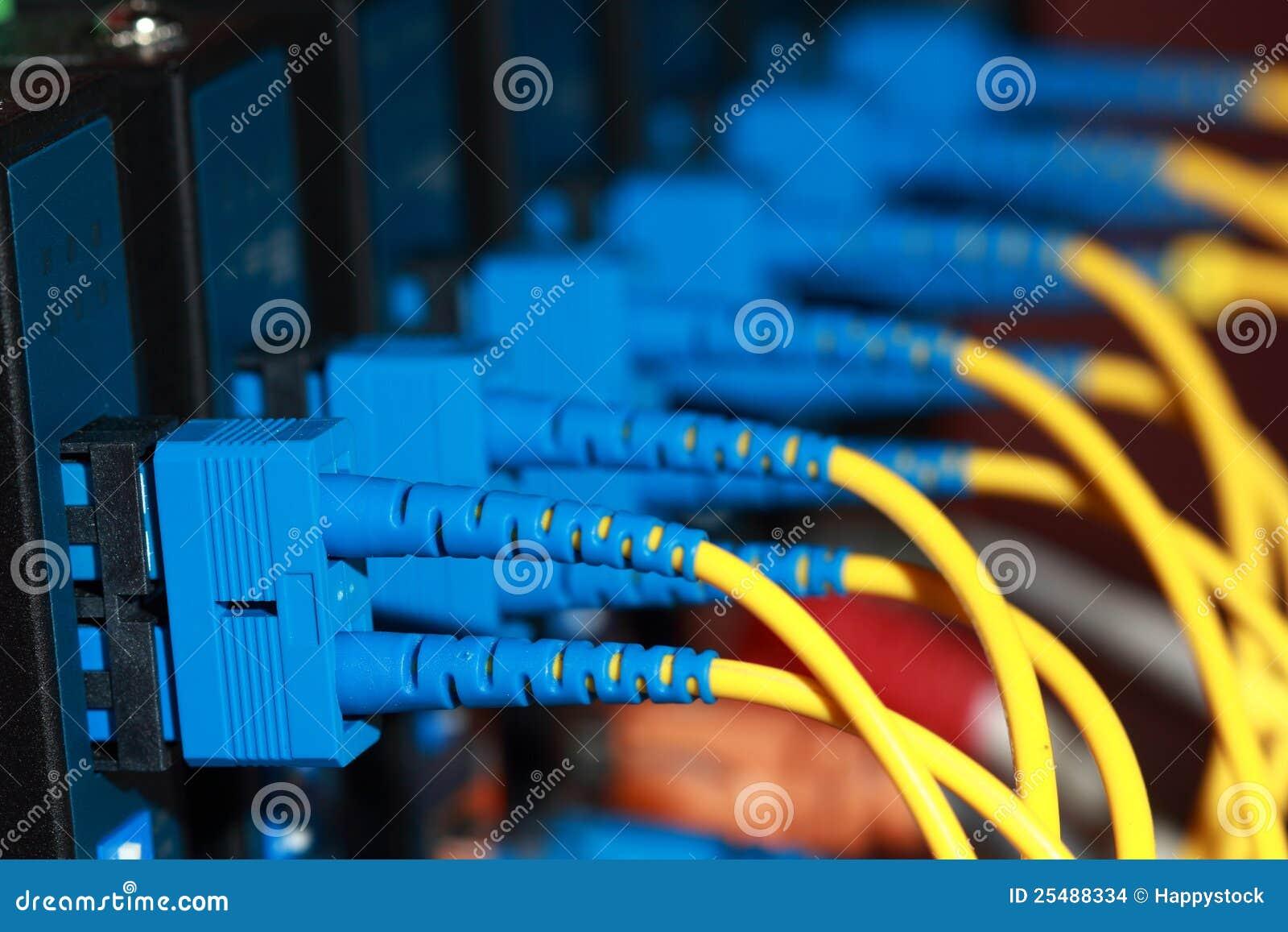 Cabo da fibra óptica