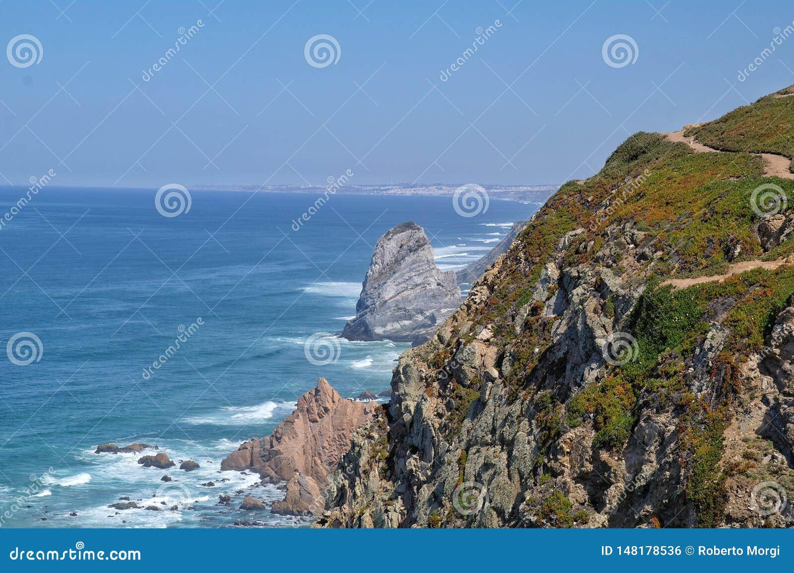 Cabo DA Roca au Portugal