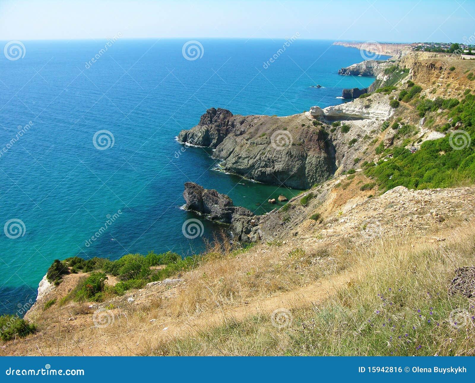 Cabo de Fiolent, Crimea, Ucrania