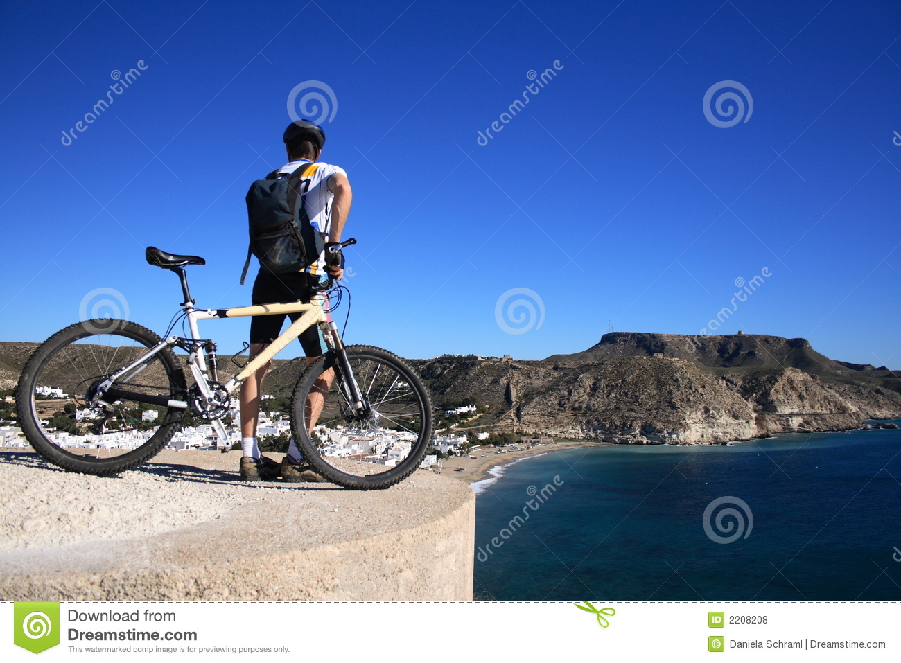 Cabo de gata som mountainbiking