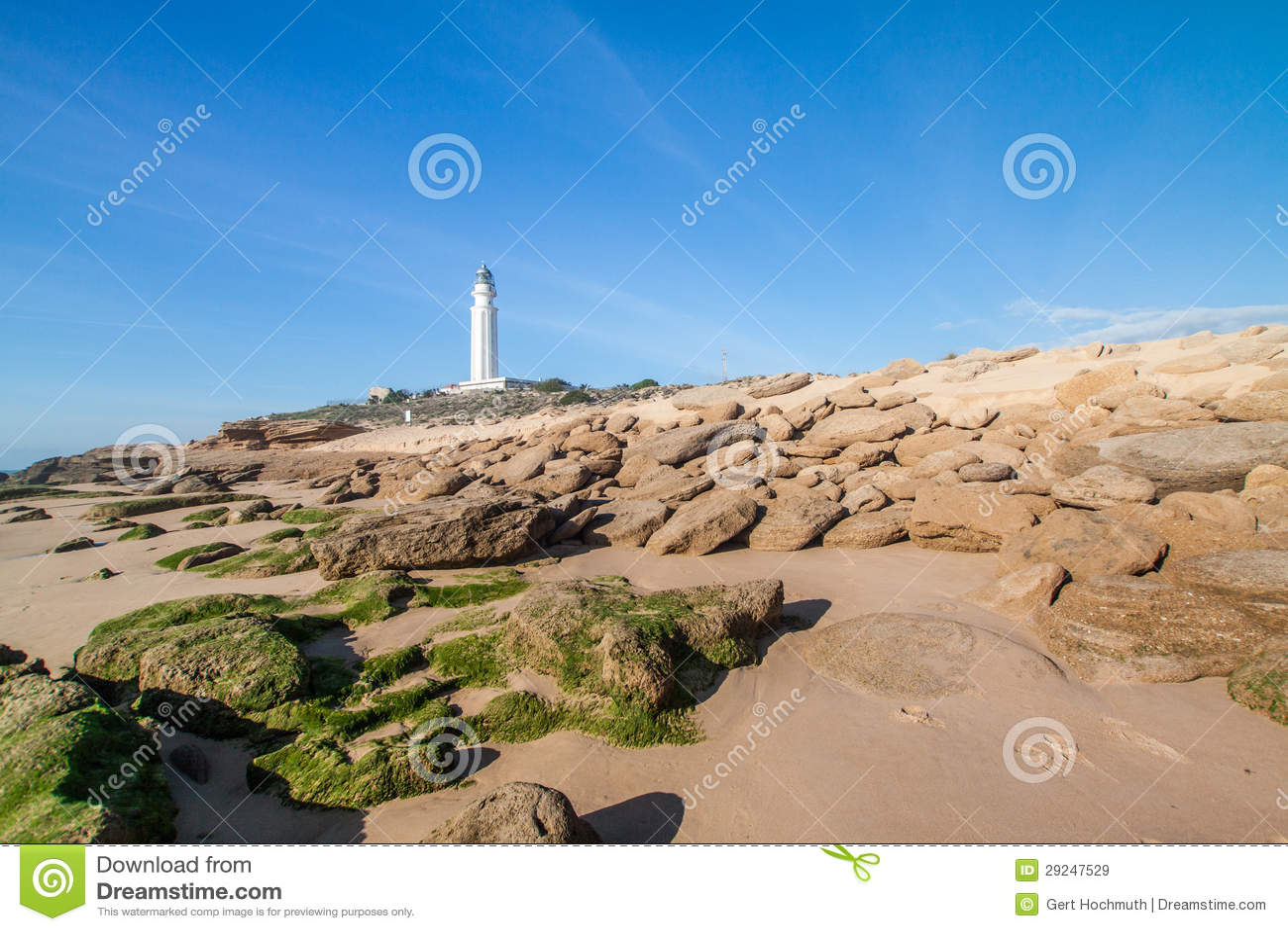Download Cabo de Trafalgar imagem de stock. Imagem de paisagem - 29247529