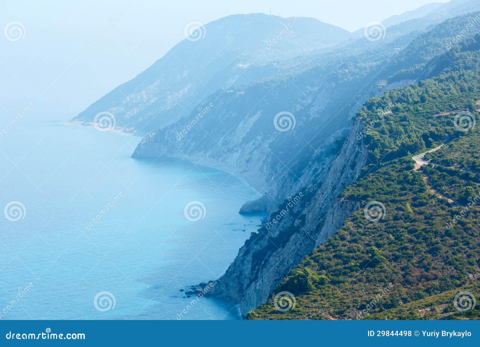 Cabo sul da ilha de Lefkas (Greece)
