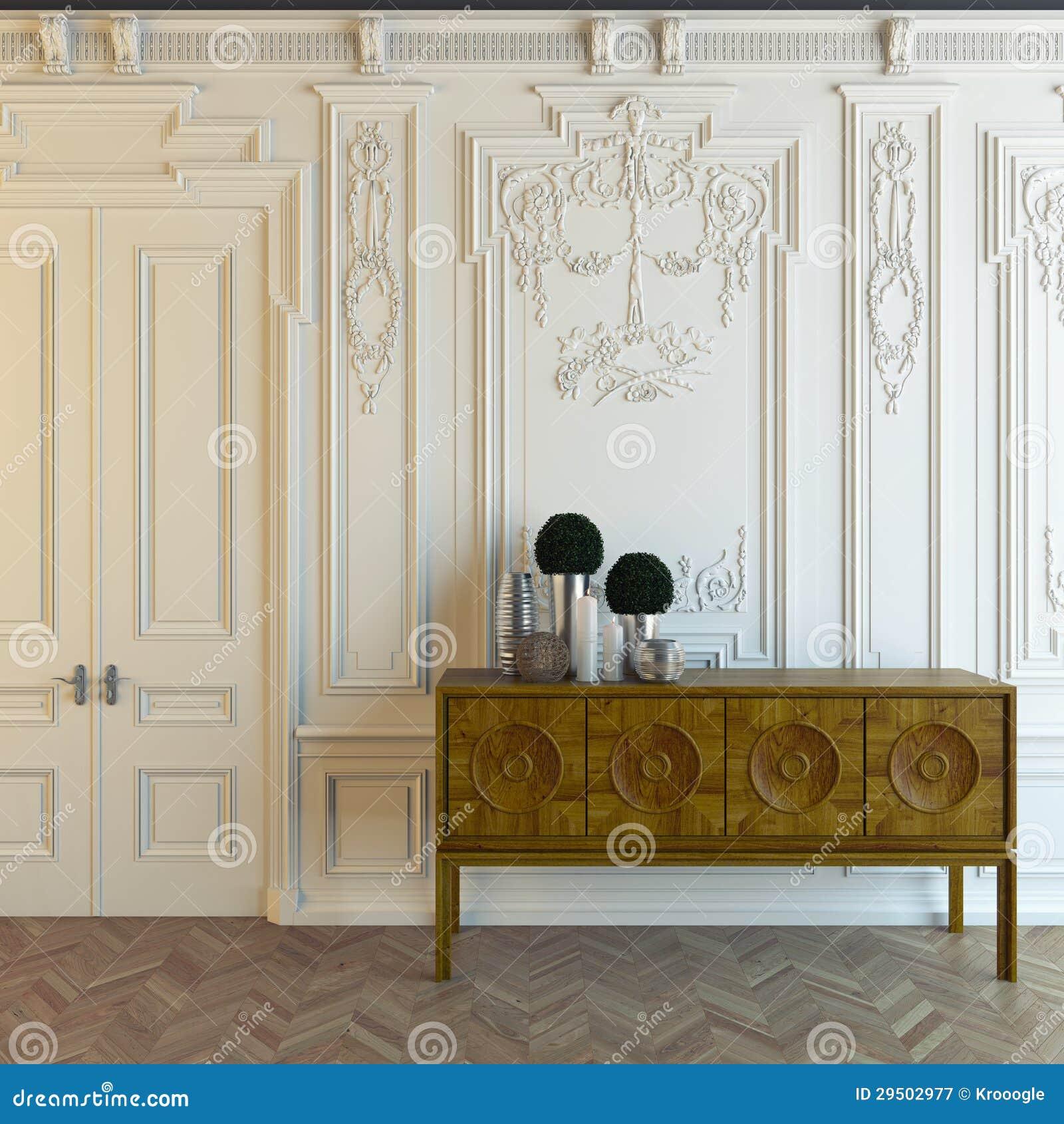 Cabot dans la chambre classique