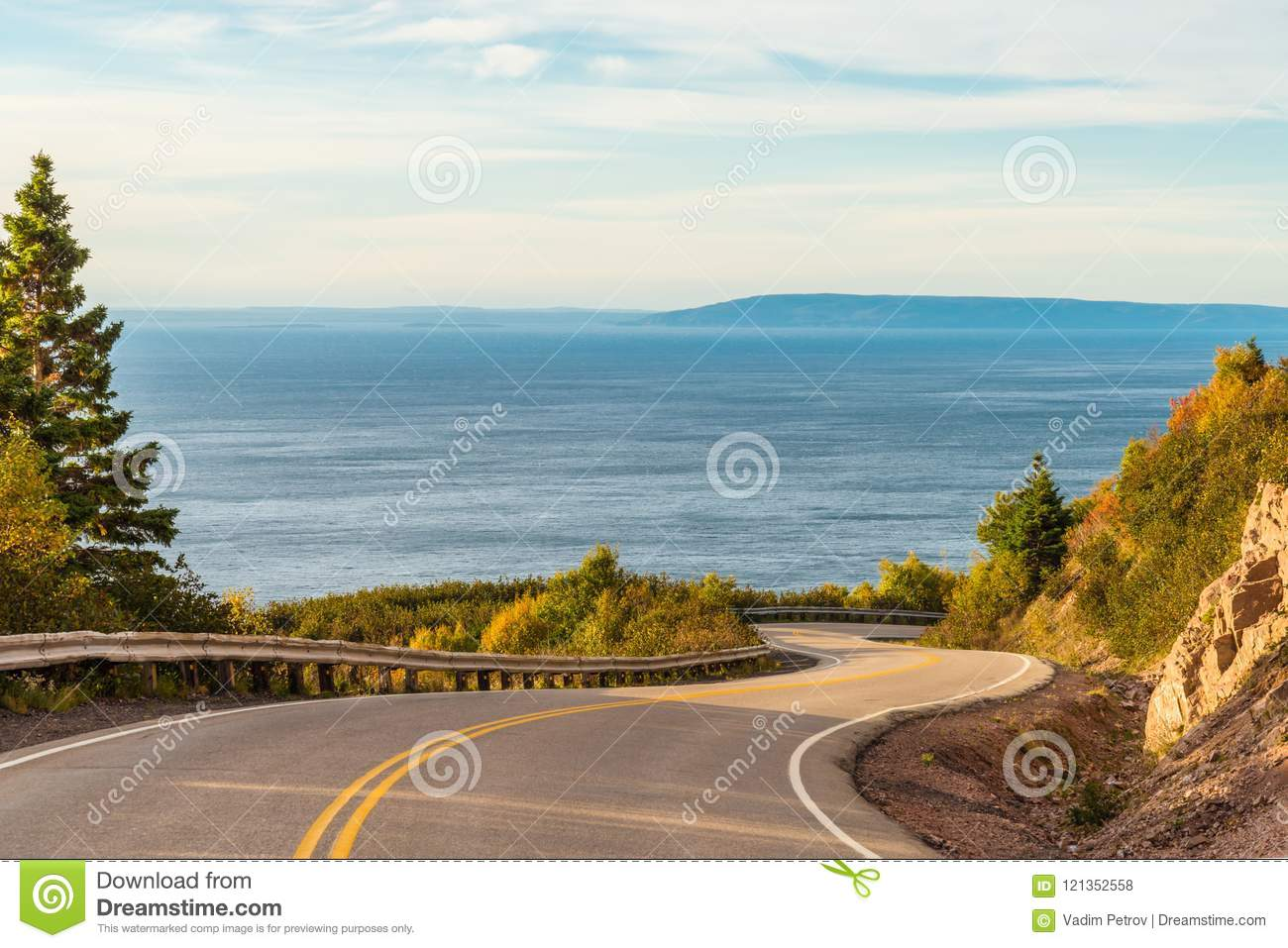 Cabot Trail Scenic-mening