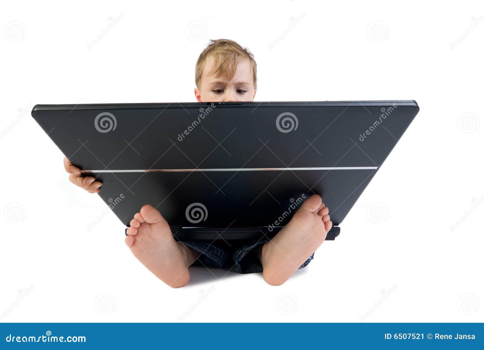 Cabrito de la computadora portátil