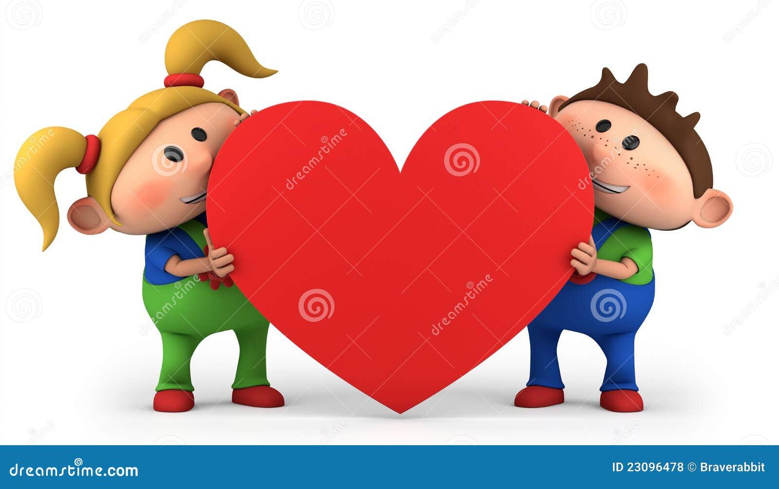 Cabritos con el corazón