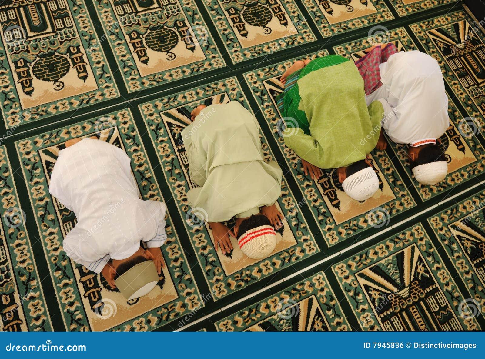 Cabritos del Islam que ruegan