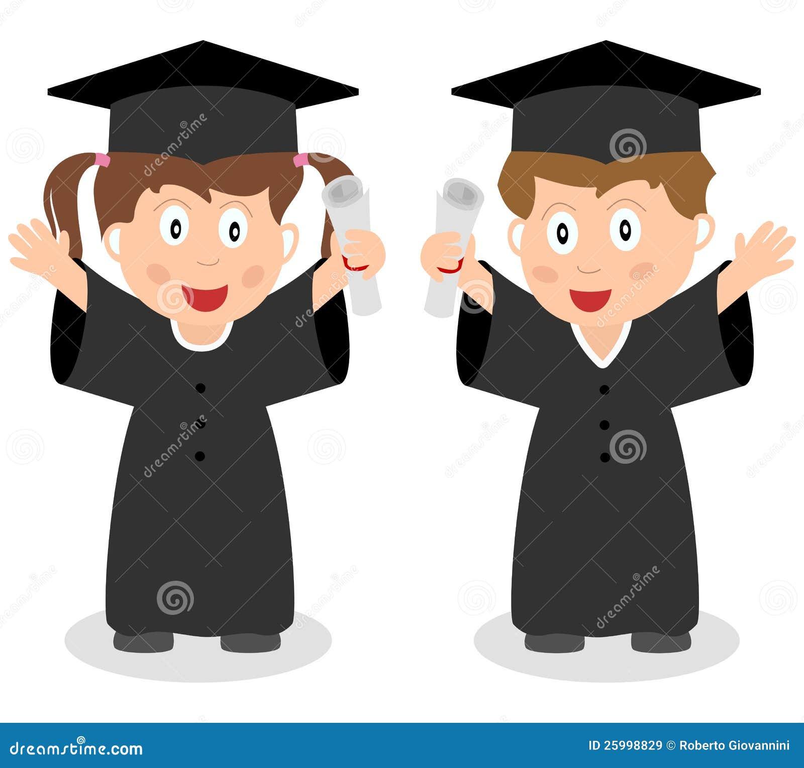 kid with graduation hat