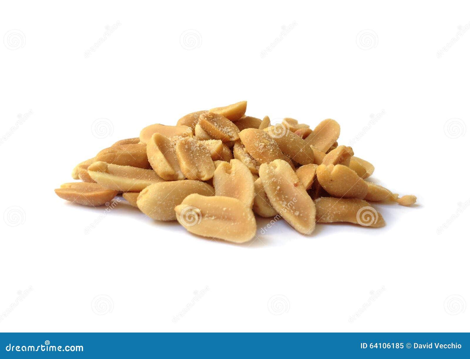 Cacahuetes salados asados
