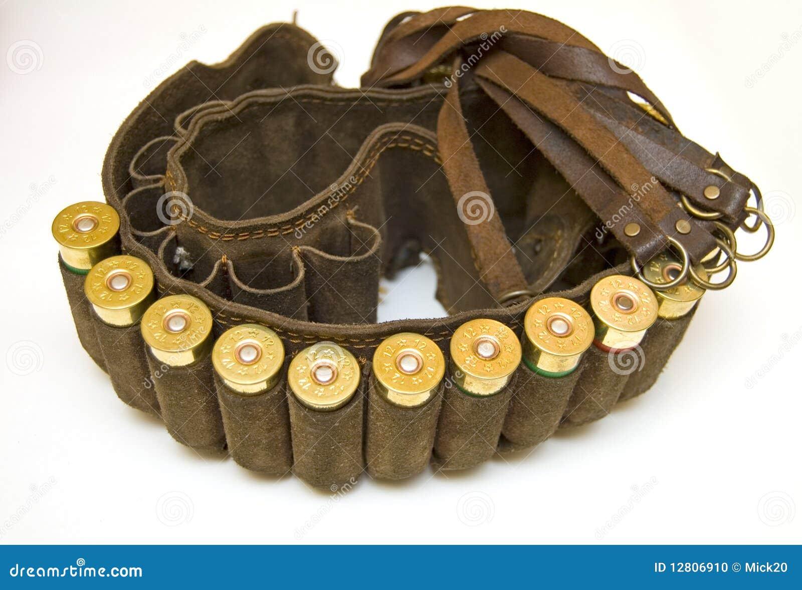 Cacciatore della custodia per armi con le cartucce del for Costo della costruzione del fucile da caccia