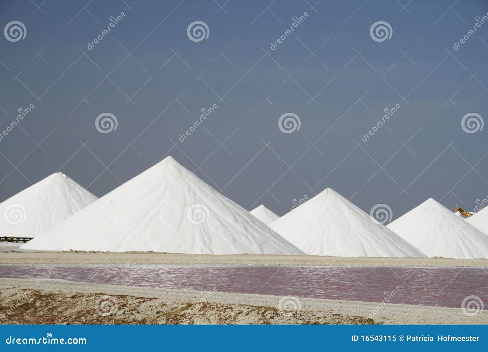 Cacerolas de la sal