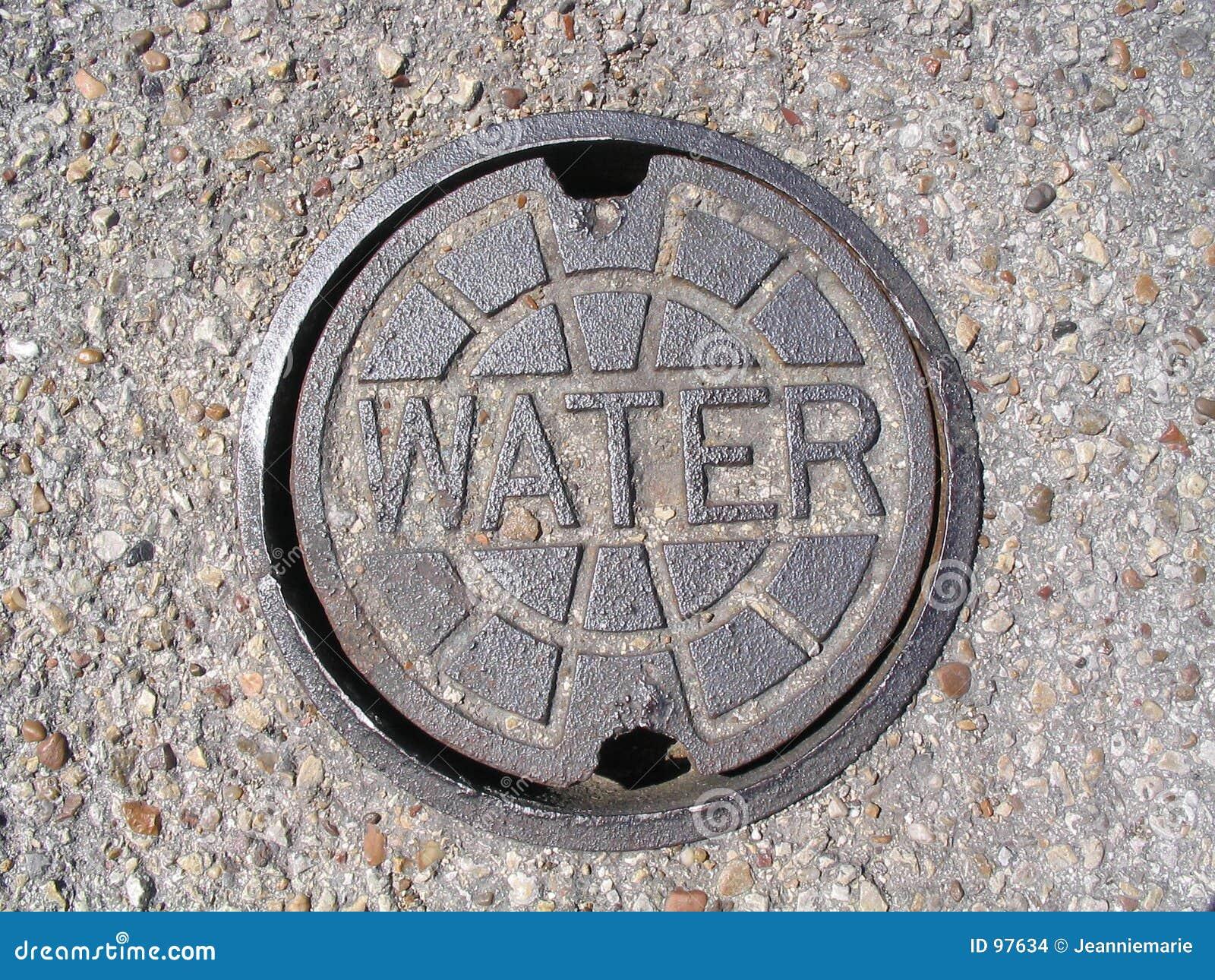 Cache de service de l eau