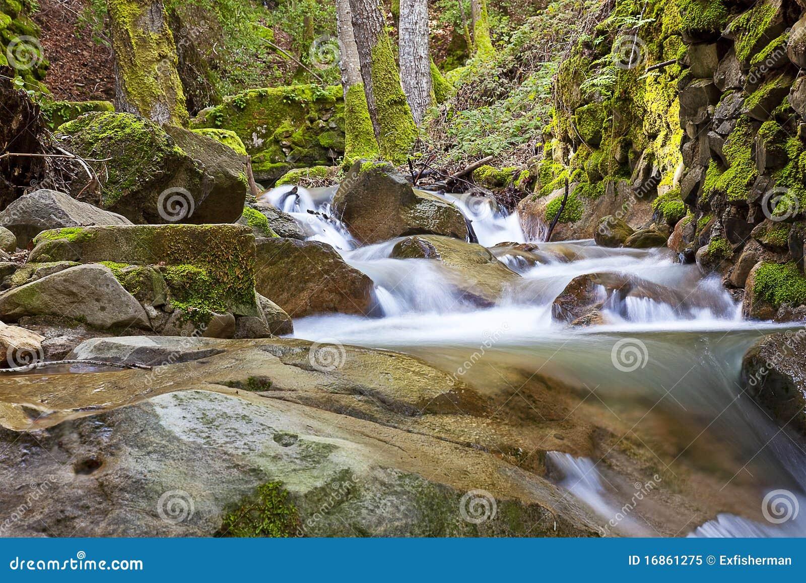 Cachoeira 2 da garganta de Uvas