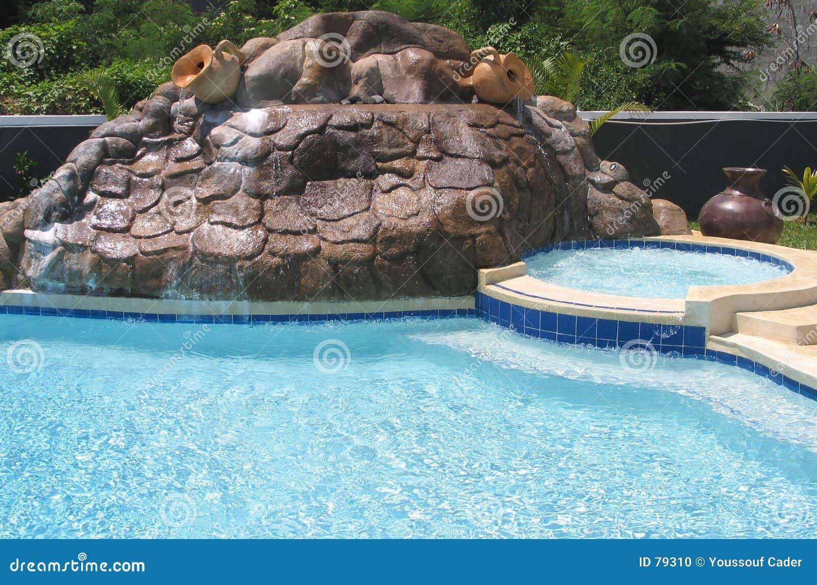 Cachoeira artificial foto de stock imagem 79310 - Business plan piscina ...
