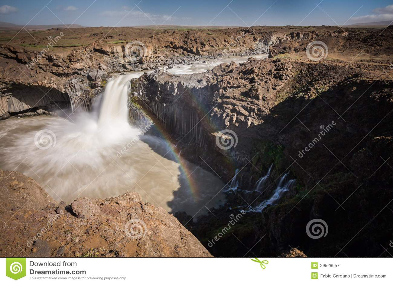 Cachoeira de Aldeyjarfoss