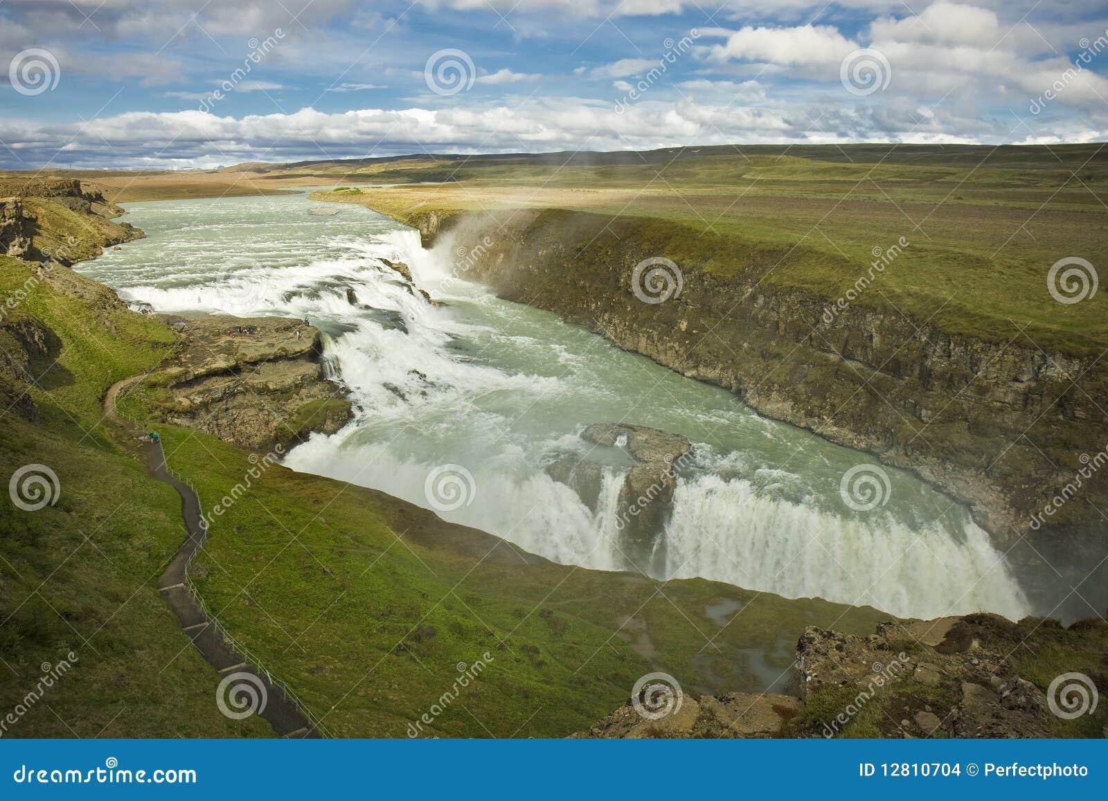 Cachoeira de Gulfoss, Islândia