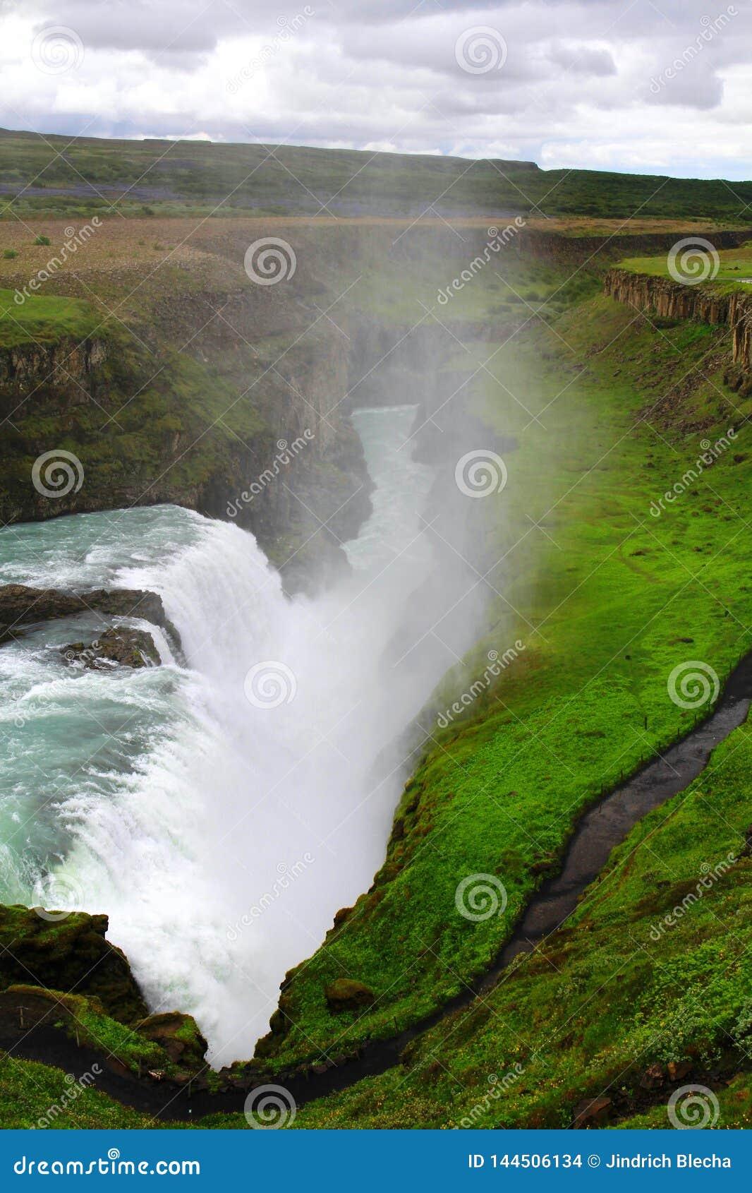 Cachoeira de Gullfoss, Isl?ndia