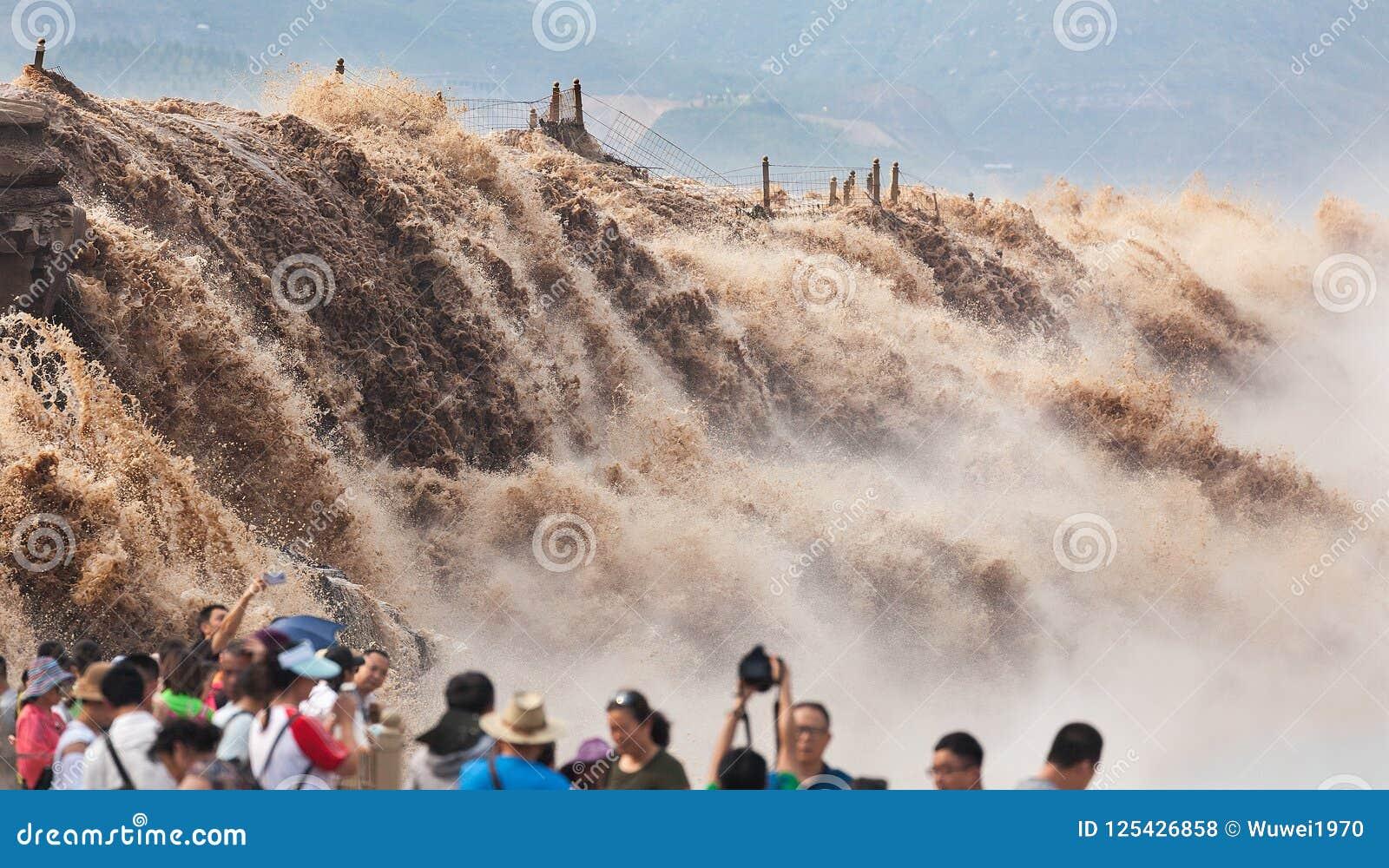 Cachoeira de Hukou do Rio Amarelo