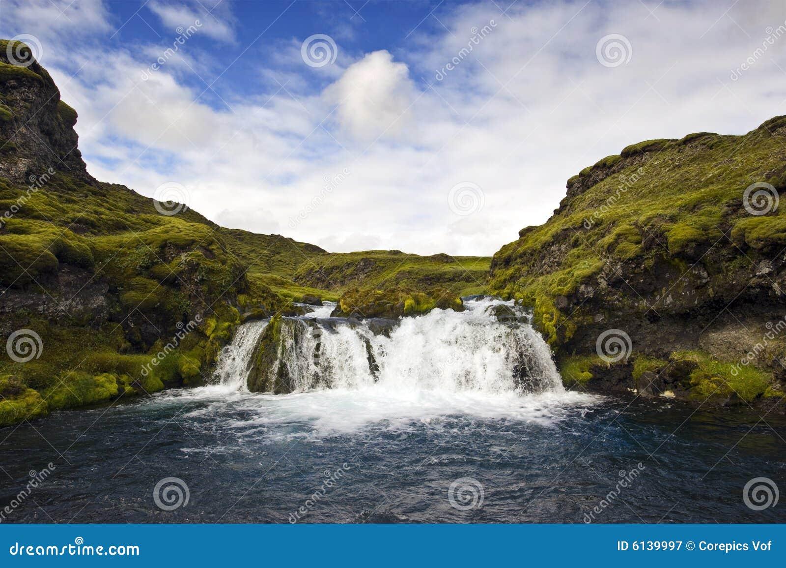 Cachoeira de Landmannalaugar
