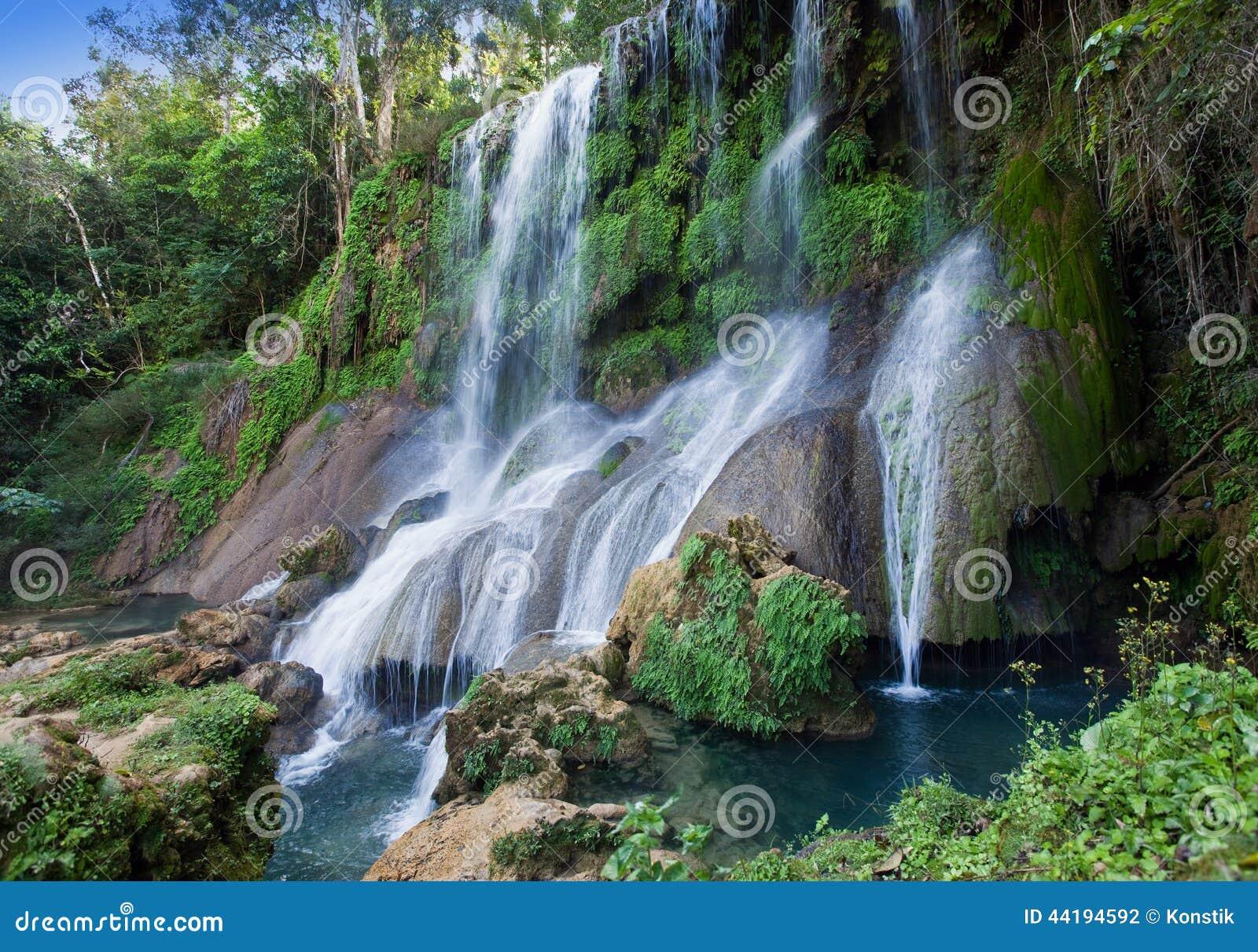 Cachoeira de Soroa, Pinar del Rio, Cuba