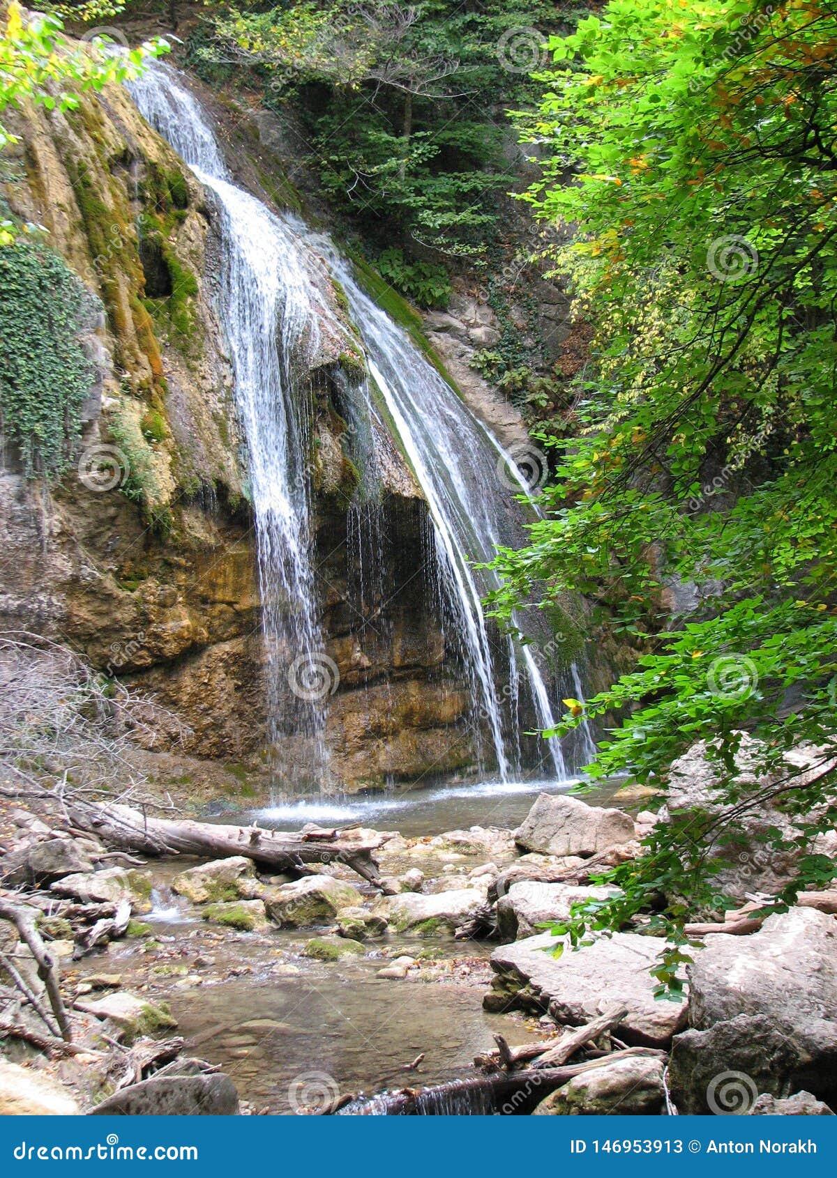 Cachoeira Djur - Djur Alushta, Rússia