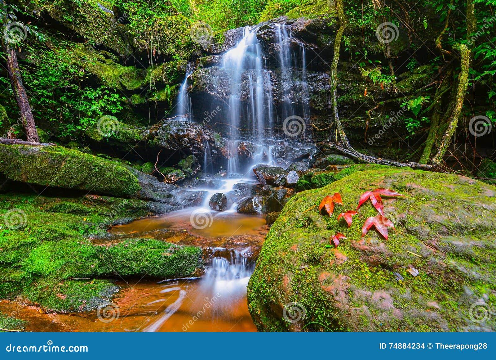 Cachoeira em Phu Soi Dao