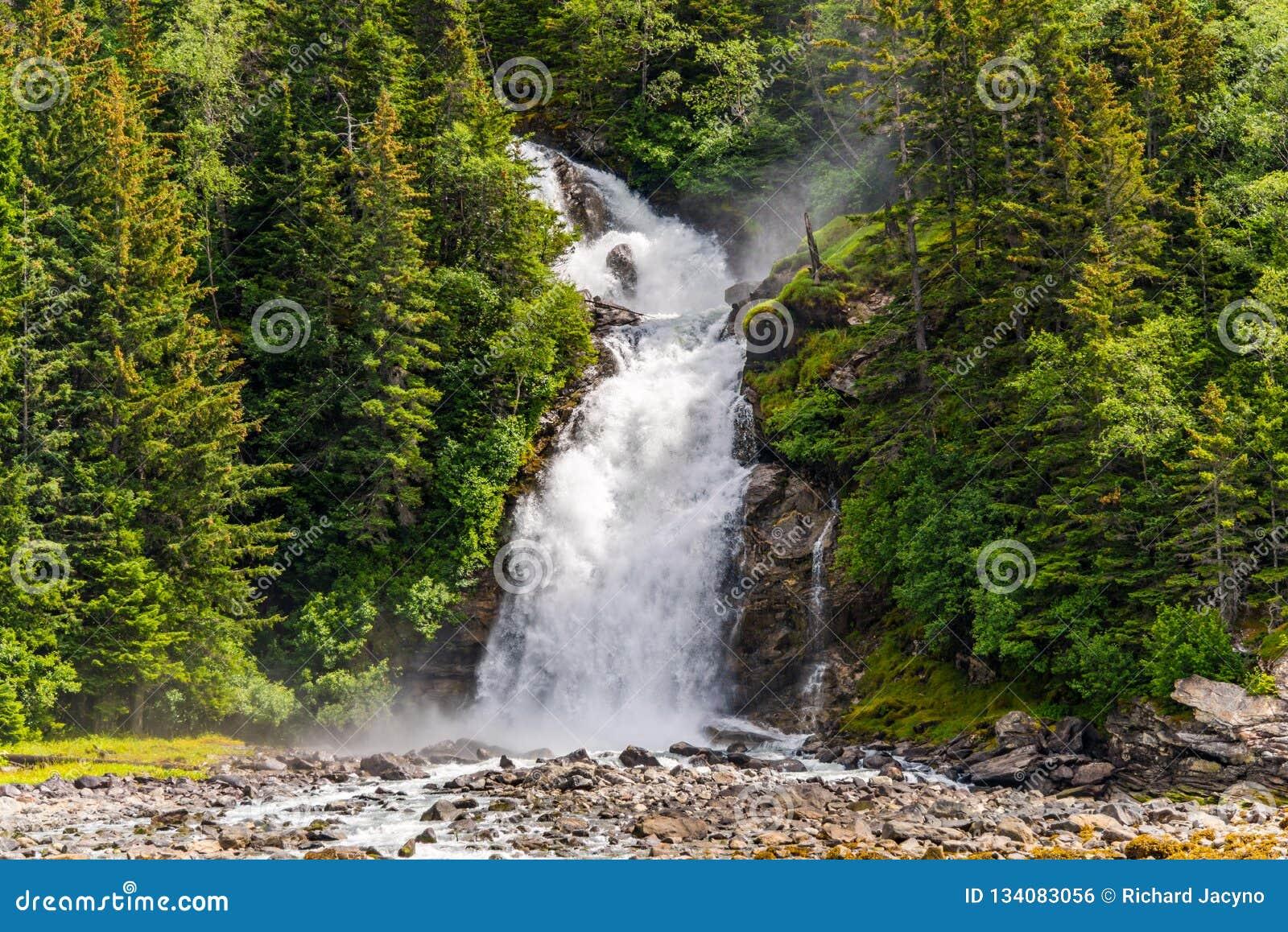 Cachoeira Skagway Alaska de Chilkoot