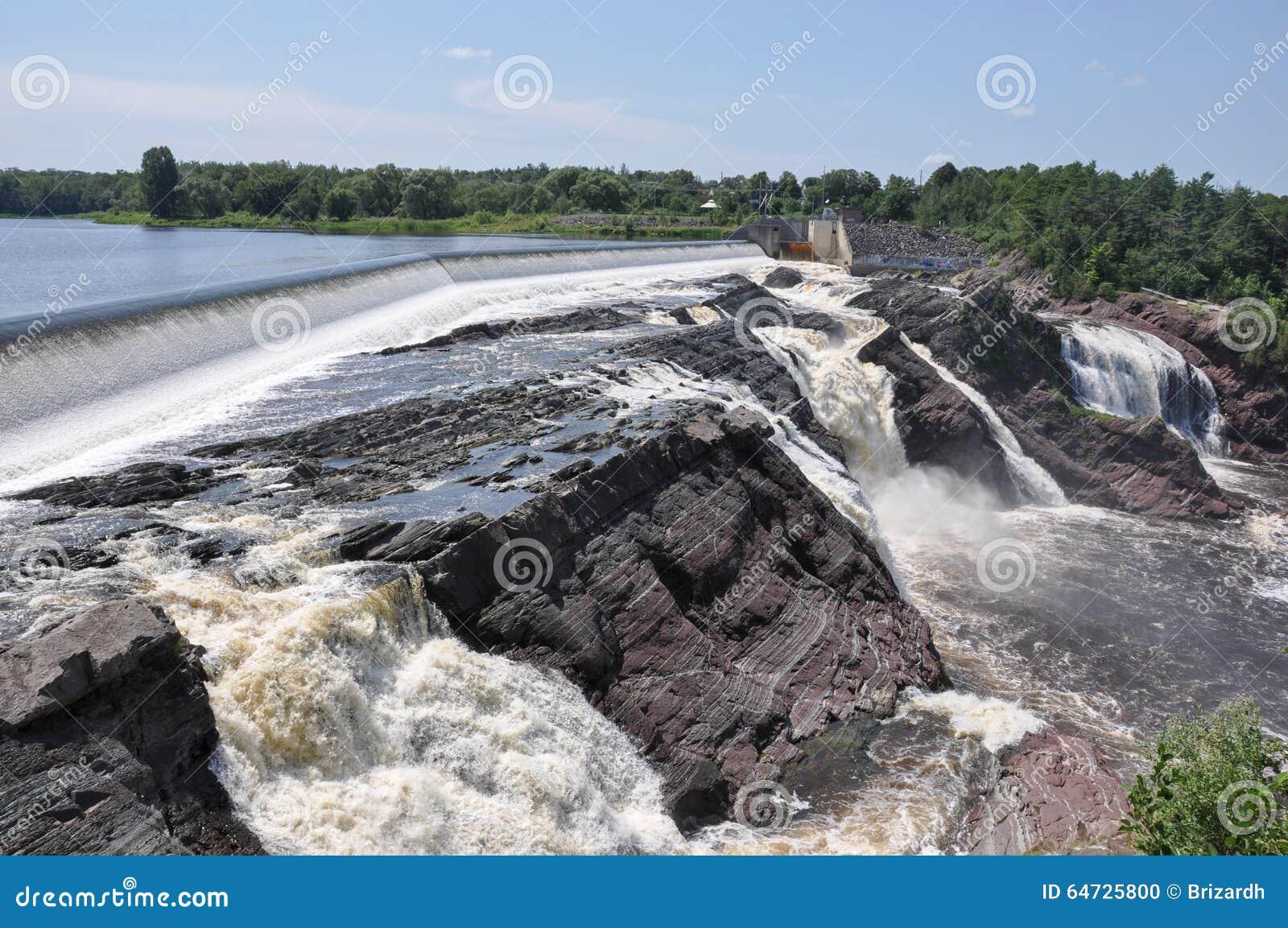 Cachoeiras de Charny, Quebeque, Canadá