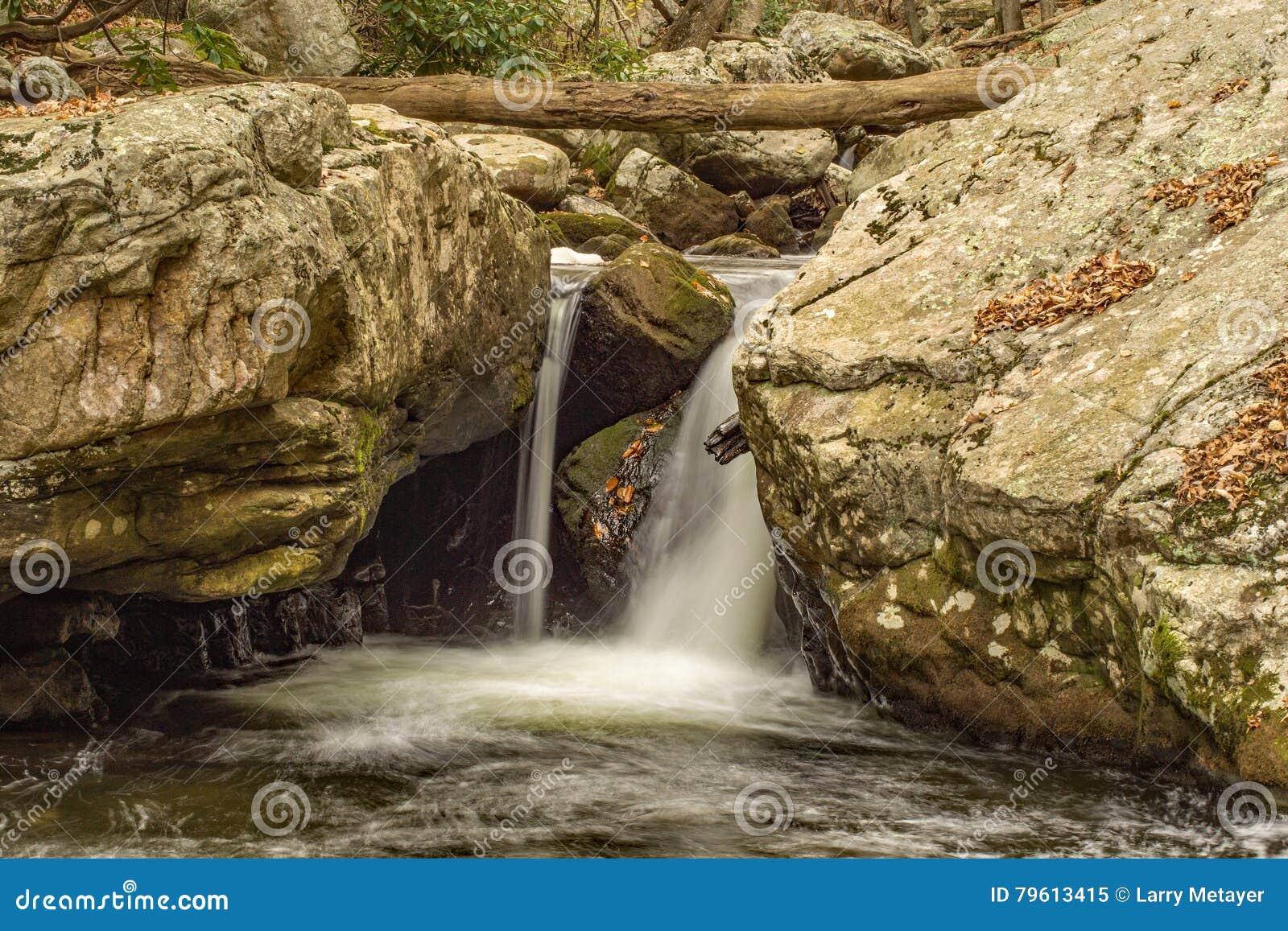 Cachoeiras de conexão em cascata, Virgínia, EUA