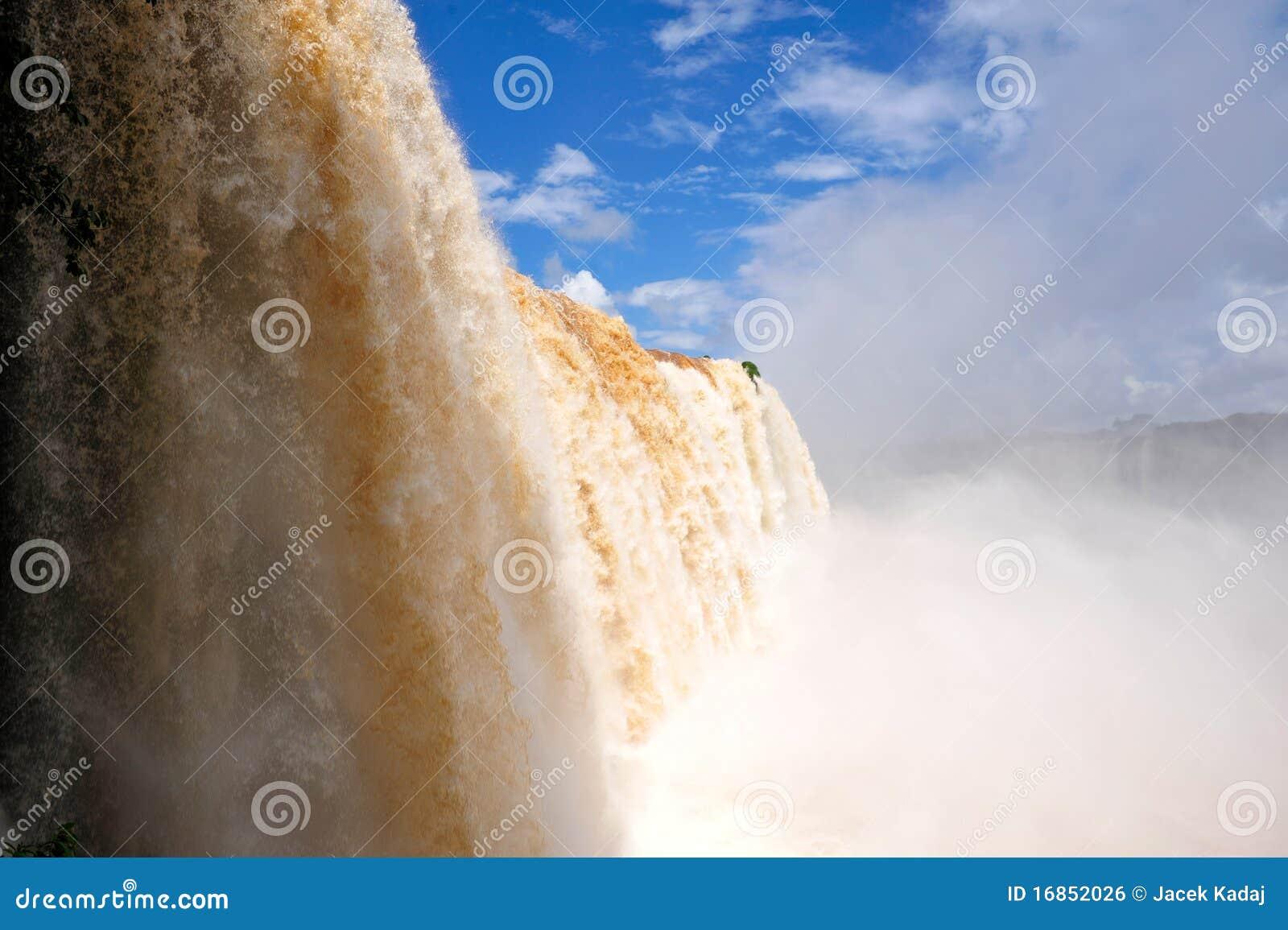 Cachoeiras de Iguazu em Brasil