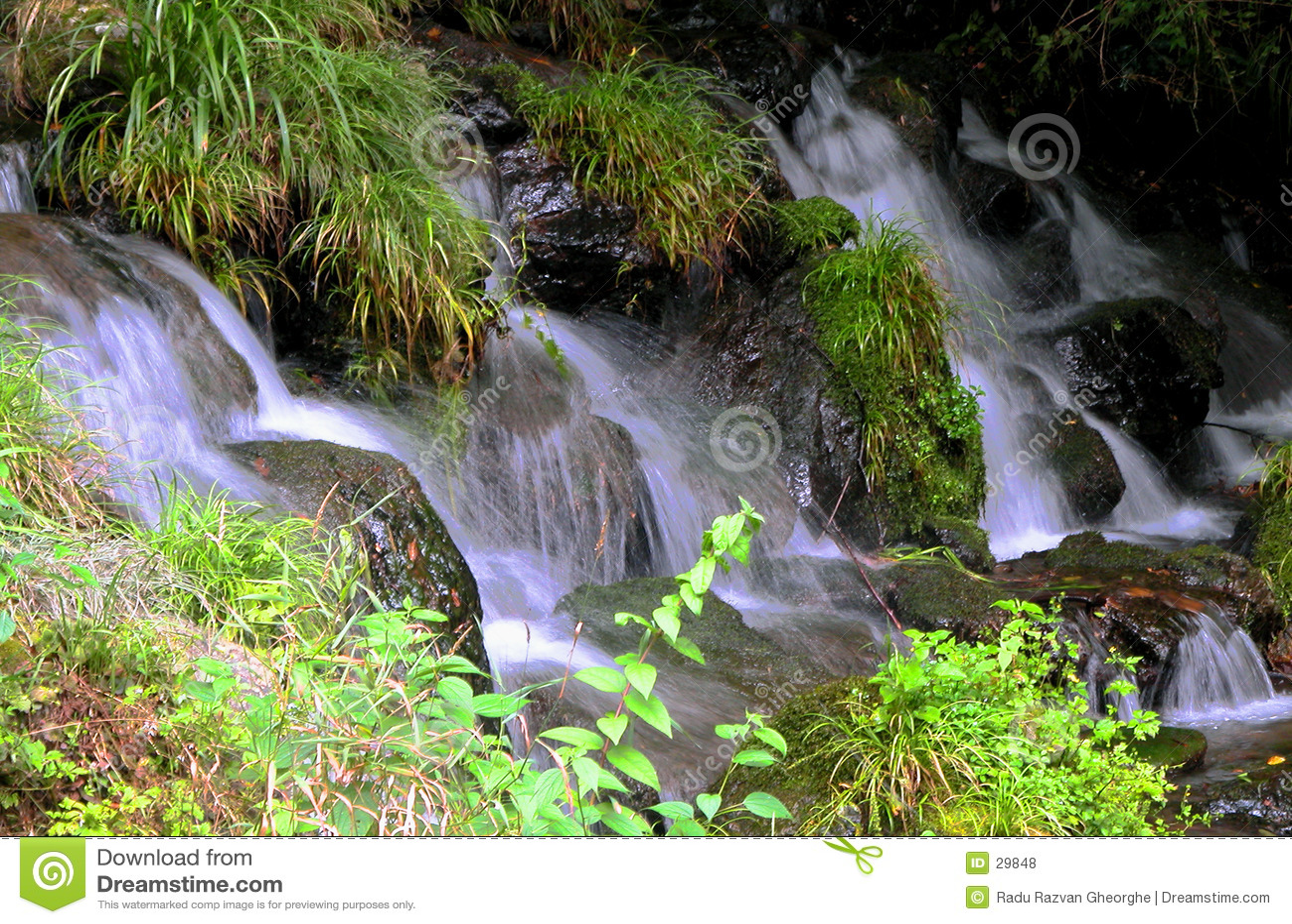 Cachoeiras pequenas