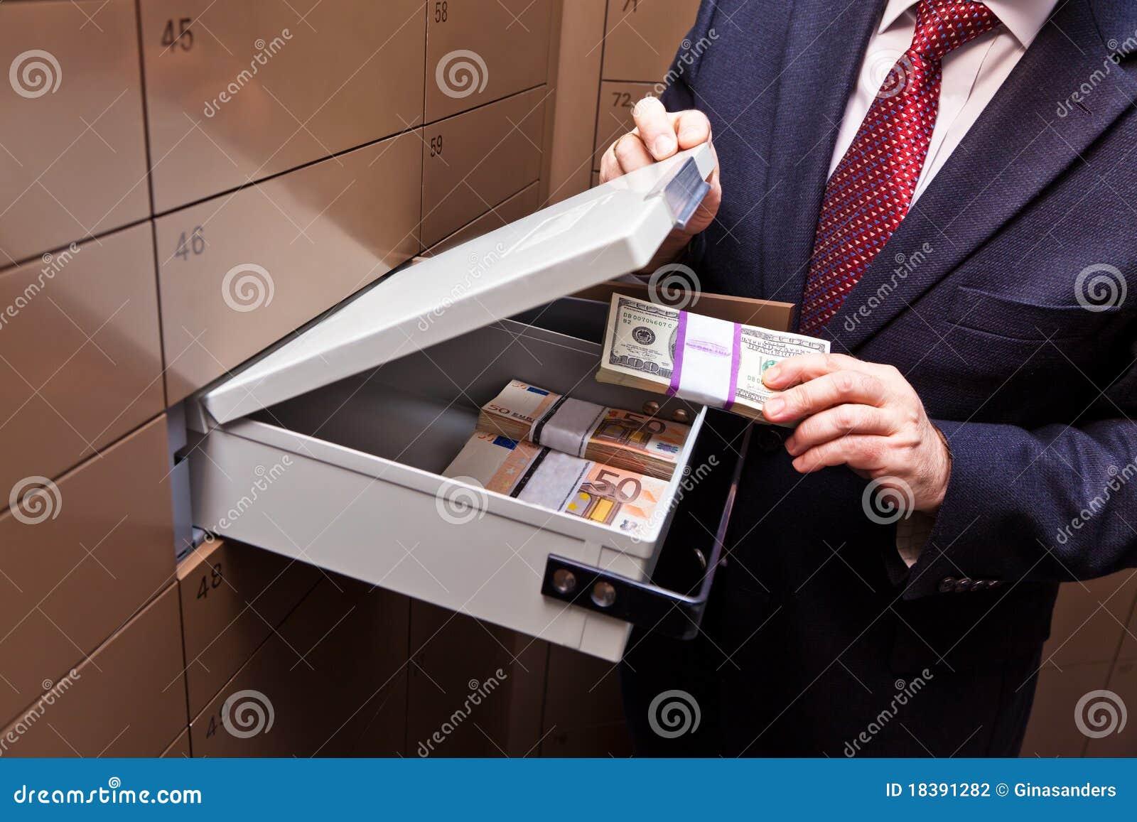Cacifo em um vault de banco