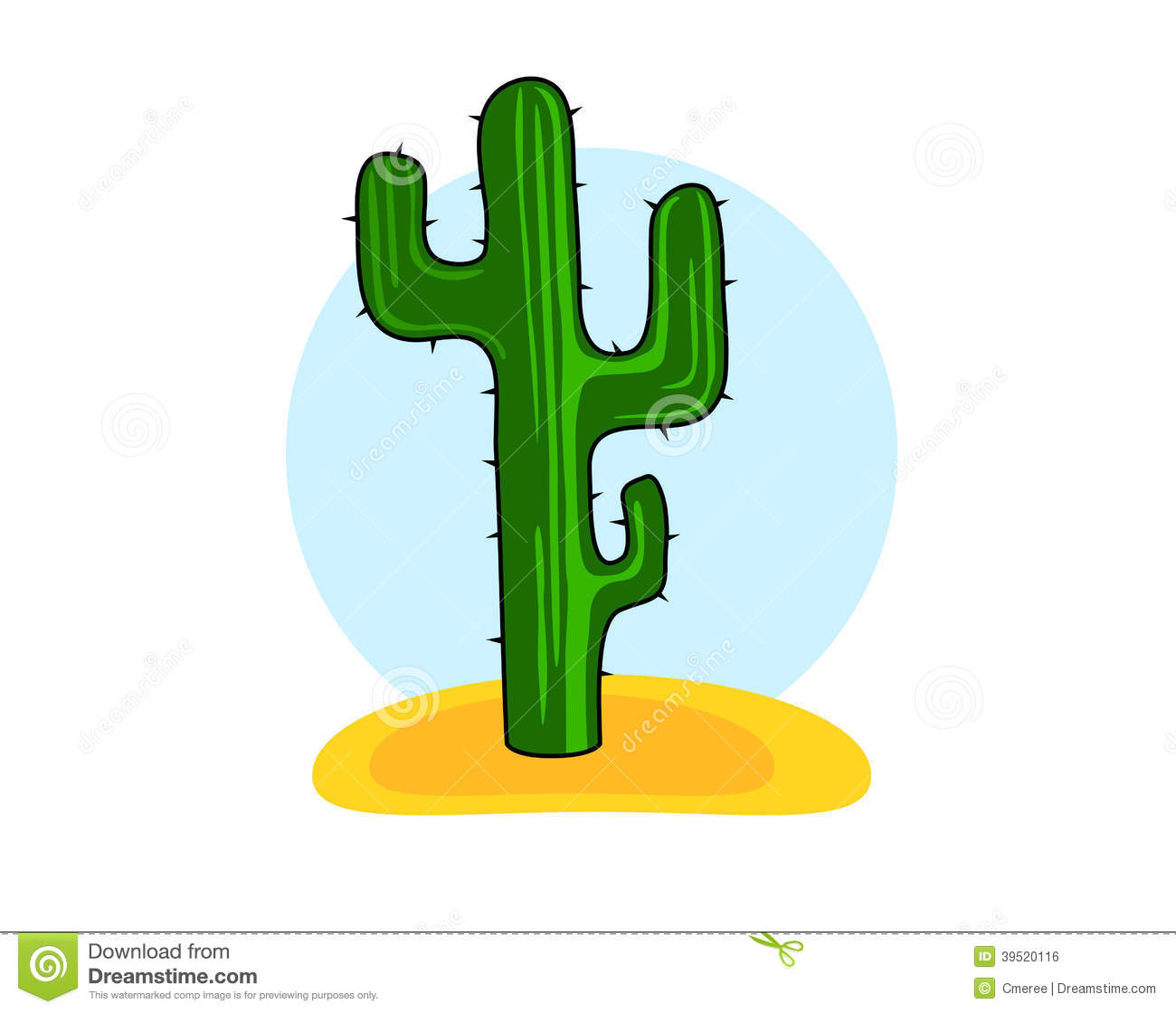 cactus illustration de vecteur illustration du cartoon. Black Bedroom Furniture Sets. Home Design Ideas